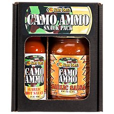 Bass Pro Shops Uncle Buck's Camo Ammo Garlic Snack Pack