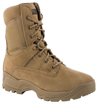 511 Tactical ATAC Coyote Side Zip Duty Boots for Men 115M