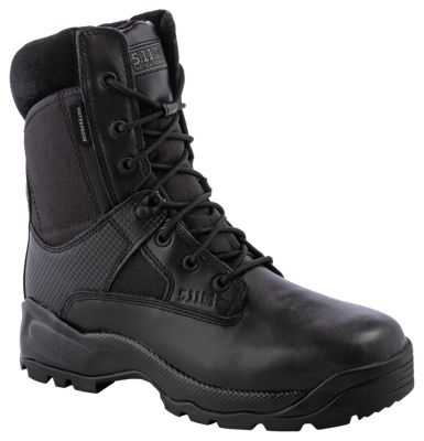 511 Tactical ATAC Storm Waterproof Side Zip Duty Boots for Men Black 85M