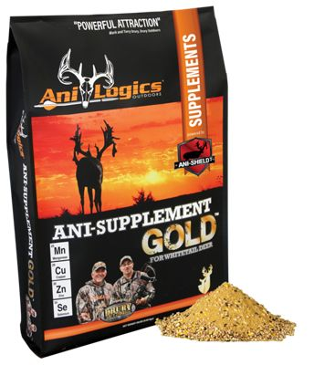 Ani-Logics Ani-Supplement Gold Nutritional Supplement Deer Attractant - 20 lbs. thumbnail