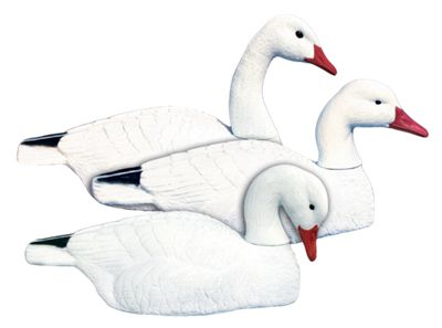 Higdon Decoys Full-Size Half-Shell Snow Goose Decoys