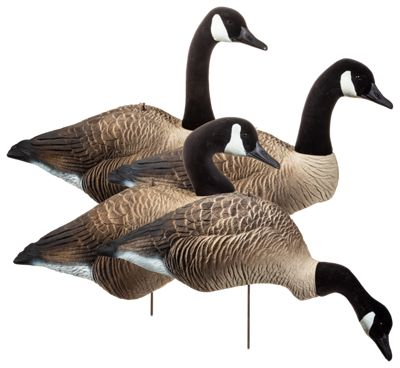 Higdon Decoys Alpha Wobbler Magnum Full-Form Shell Canada Goose Decoy Variety Pack