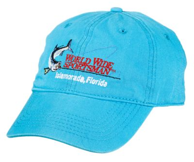 7b7c5548f33 World Wide Sportsman Embroidered Logo Cap for Kids - Turquoise