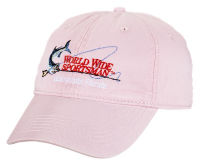d206849ad7f World Wide Sportsman Embroidered Logo Cap for Kids - Pink