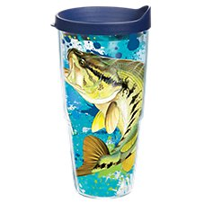 f0ca19253b6 Tervis Tumbler Guy Harvey Bass Splatter Insulated Wrap with Lid