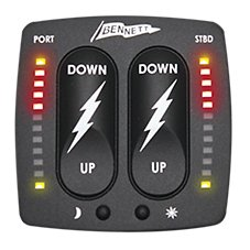 Bennett Marine BOLT Electric Rocker Control with Indication