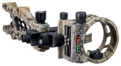 """TRUGLO Carbon Hybrid Micro Bow Sight - Realtree Xtra - .019""""/5 Pin"" thumbnail"