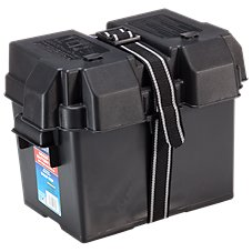 Bass Pro Shops Snap-Top Marine Battery Box