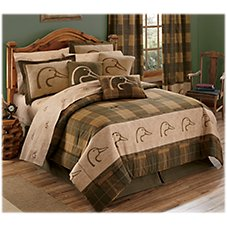 Ducks Unlimited Plaid Collection Comforter Set