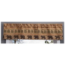 Park Designs Bear Tracks Lined Valance
