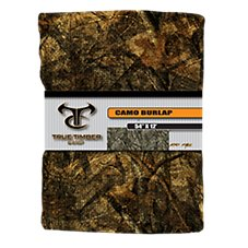Camo Burlap Blind Fabric