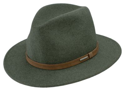 541e00c5f91ee ...  65.00 The Stetson Explorer Crushable Fedora Hat is the perfect way to  top off your outfit in style. The crushable design allows you to fold it