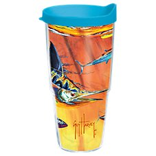 Tervis Tumbler Guy Harvey Hot Tropix Hydro Insulated Wrap with Lid