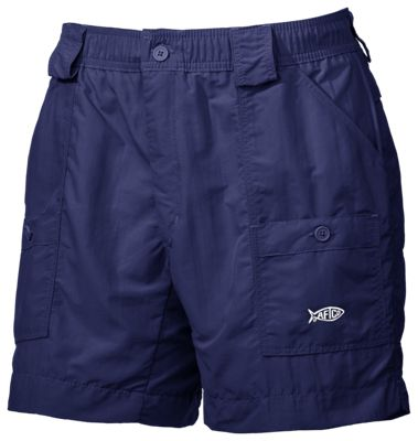 Image of AFTCO Original Fishing Shorts for Men  Navy  34