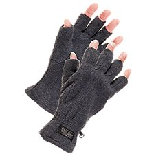 White River Fly Shop Fingerless Fleece Gloves