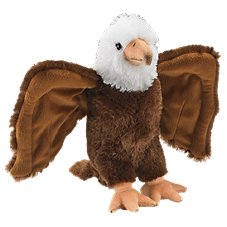 Wildlife Artists Conservation Critters Plush Stuffed Bald Eagle Toy