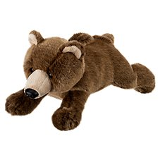 Wildlife Artists Conservation Critters Plush Stuffed Grizzly Bear Toy
