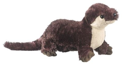 Bass Pro Shops Critter Callers Plush Stuffed River Otter Toy Bass