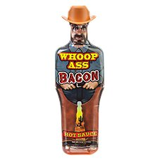 Ass Kickin' Whoop Ass Bacon Hot Sauce