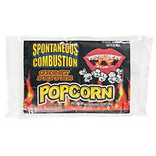 Ass Kickin' Spontaneous Combustion Ghost Pepper Microwave Popcorn