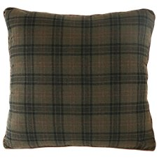 Cedar Hills Collection Plaid Euro Sham