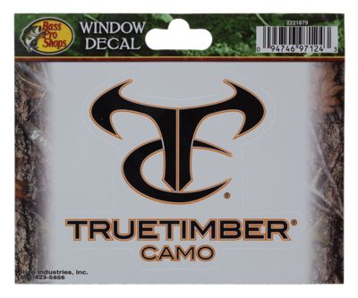 bass pro shops truetimber htc window decal bass pro shops. Black Bedroom Furniture Sets. Home Design Ideas