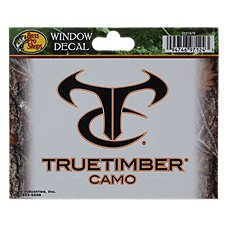 Bass Pro Shops TrueTimber HTC Window Decal