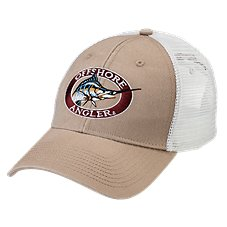 Offshore Angler Twill Mesh Cap with Embroidered Logo