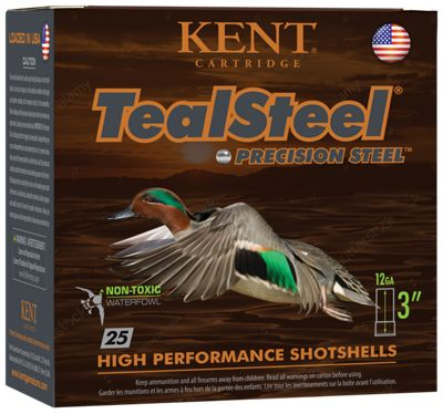 Kent Cartridge TealSteel Waterfowl Shotshells by
