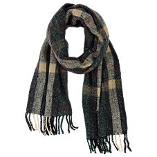 Bob Timberlake Box Plaid Scarf for Men