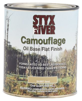 Styx River Camouflage Paint by