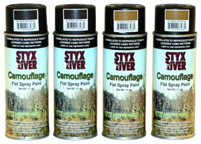 Styx River Camouflage Paint Kit by