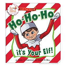 Scout Elves Present Ho-Ho-Ho! It's your Elf! Children's Book By Carol Aebersold and Chanda Bell
