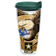 Tervis Tumbler Army Eagle Insulated Wrap with Lid