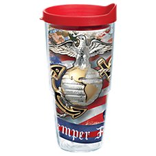 Tervis Tumbler Marines Eagle and Anchor Insulated Wrap with Lid