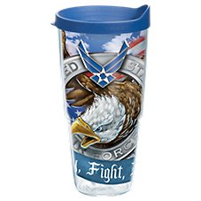 Tervis Tumbler Air Force Eagle Insulated Wrap with Lid
