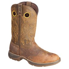 Durango Rebel Saddle Western Boots for Men