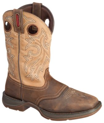 d102ba75918 Durango Rebel Steel Toe Waterproof Western Boots for Men BrownTan 115 M