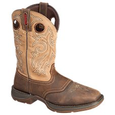 Durango Rebel Steel Toe Waterproof Western Boots for Men