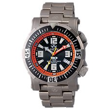 Reactor Poseidon Sport Watch with Titanium Band for Men