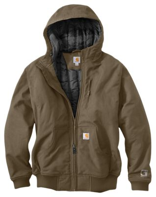 Carhartt Quick Duck Jefferson Active Jacket for Men - Canyon Brown - 3XL