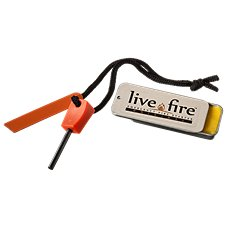 Live Fire Gear Emergency Fire Starter Survival Kit