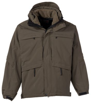 5.11 Tactical Aggressor Concealed Carry Parka for Men - Tundra - S thumbnail