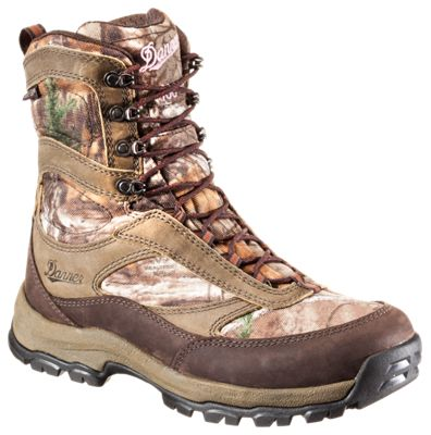 Danner High Ground GORE-TEX Insulated Hunting Boots for Ladies - Brown/Realtree Xtra - 10 M thumbnail