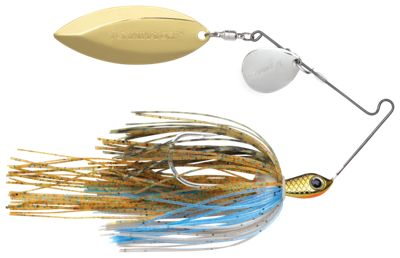 Terminator S-1 Super Stainless Tandem Spinnerbait – 3/8 oz. – Bluegill