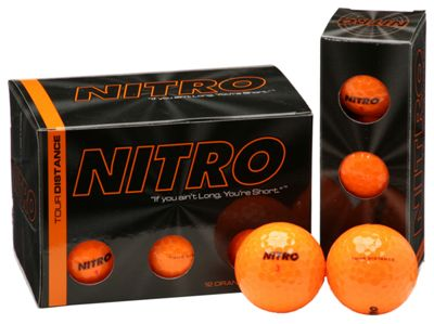 36 Pack Nitro Golf Balls - Orange