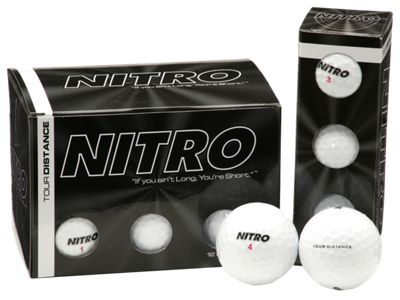 36 Pack Nitro Golf Balls - White