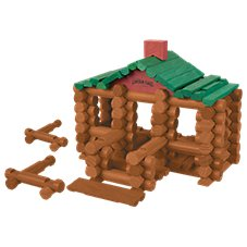 K'Nex Lincoln Logs 111-Piece Set 100th Anniversary Tin for Kids