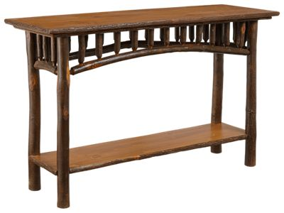 Old Hickory Furniture North Country Sofa Table Bass Pro Shops