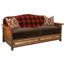 Old Hickory Furniture Woodland Living Room Furniture Collection Sofa